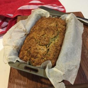 Zucchini gluten free bread