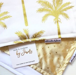 Gold Luxe Burp Cloth