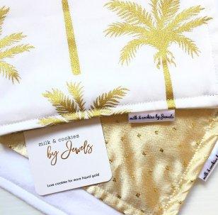 Gold Luxe Burp Cloth